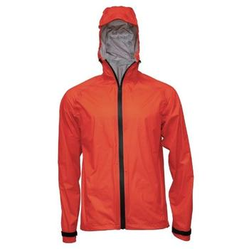 rain jacket without flap over main zip